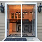 French Doors With Blinds