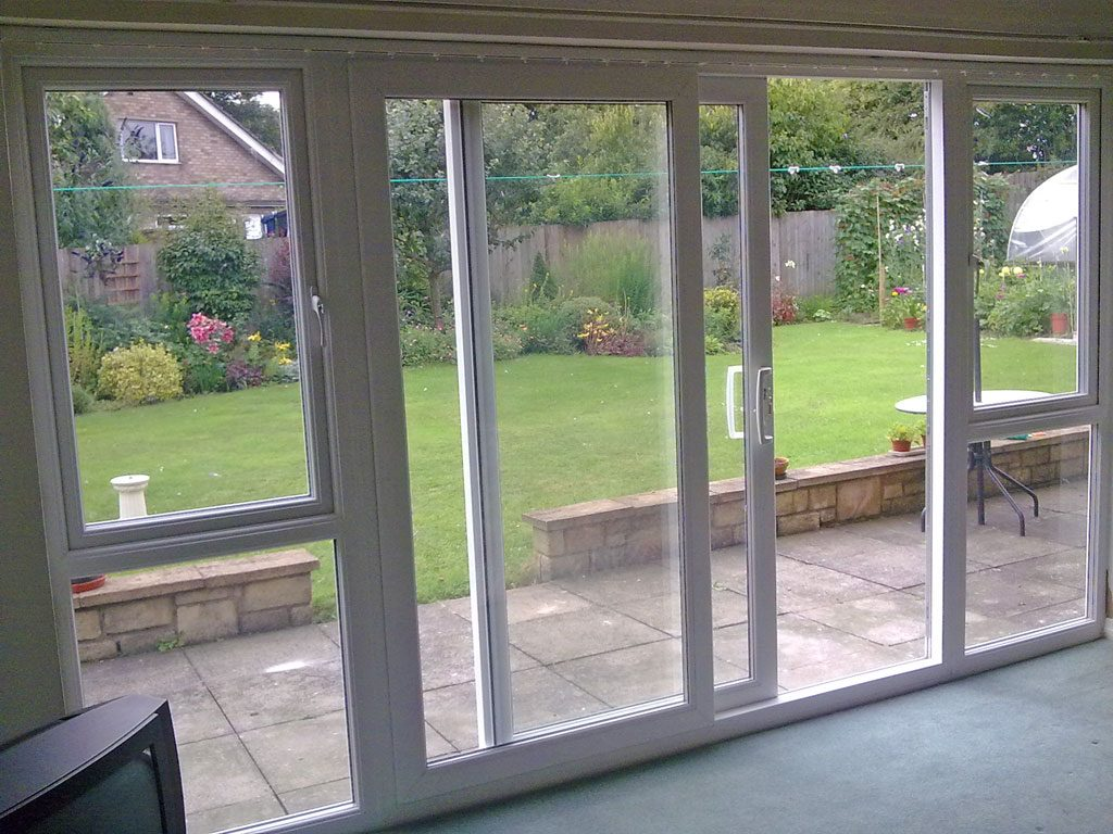 How to style your french patio doors a creative mom for Patio doors french doors