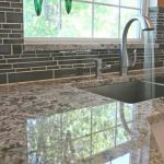 Granite Tile Bathroom Countertop