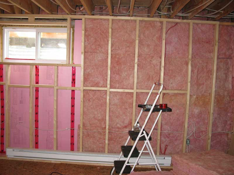 how to best insulate basement walls a creative mom rh unemamancreative com best way to insulate a basement in canada best way to insulate a basement ceiling