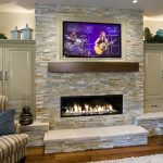 Linier Fireplace Ideas
