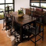 Narrow Width Dining Table