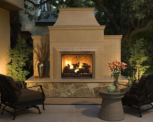 Prefab Outdoor Fireplace Kits A Creative Mom