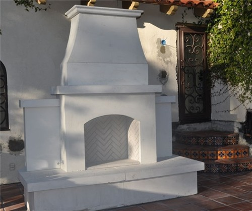 Prefab Outdoor Fireplaces A Creative Mom