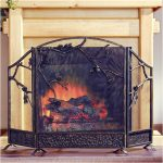 Tips Decorative Fireplace Screens