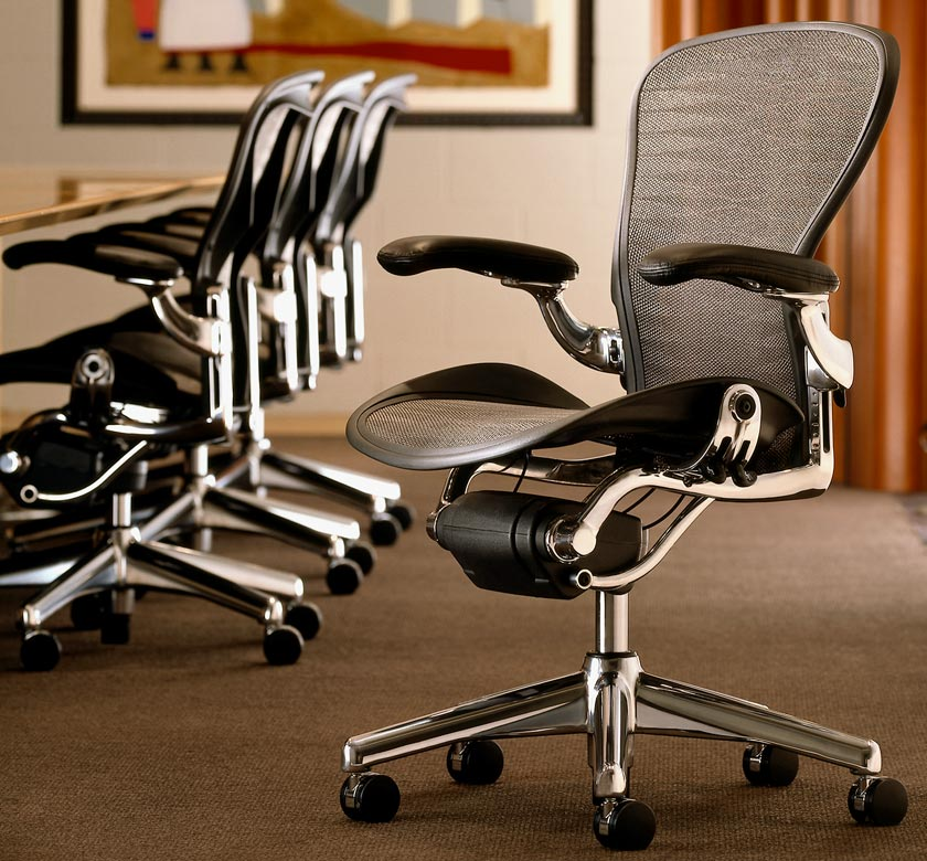 The Herman Miller Chair is the Perfect Office Chair