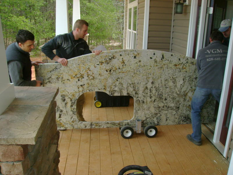 How to Install Granite Countertops Yourself!