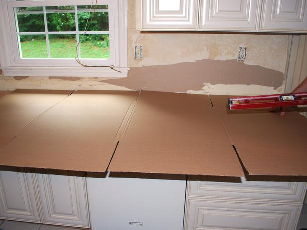 How to install slab granite countertops