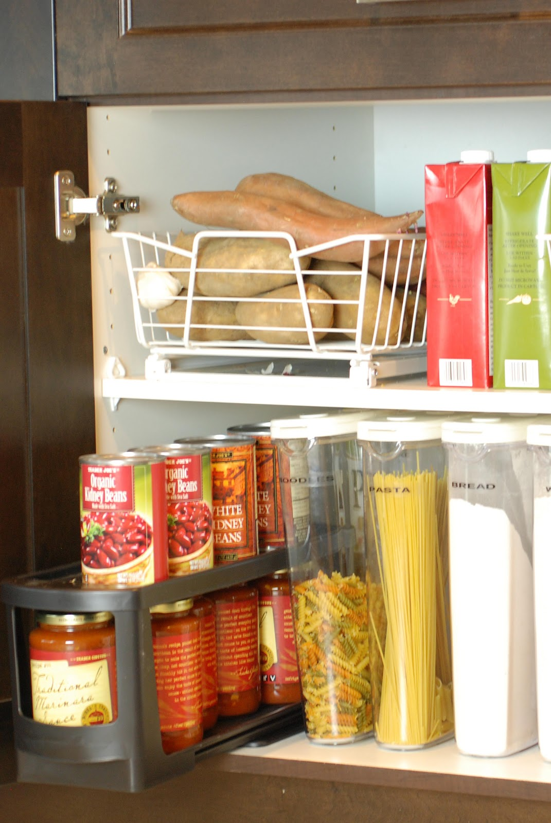 Ideas for Organizing Kitchen Cabinets