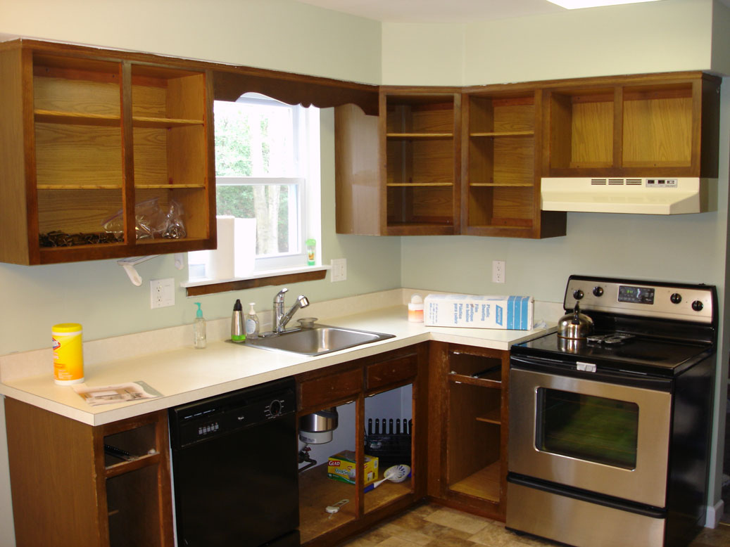 The Secret to Refinish Kitchen Cabinets