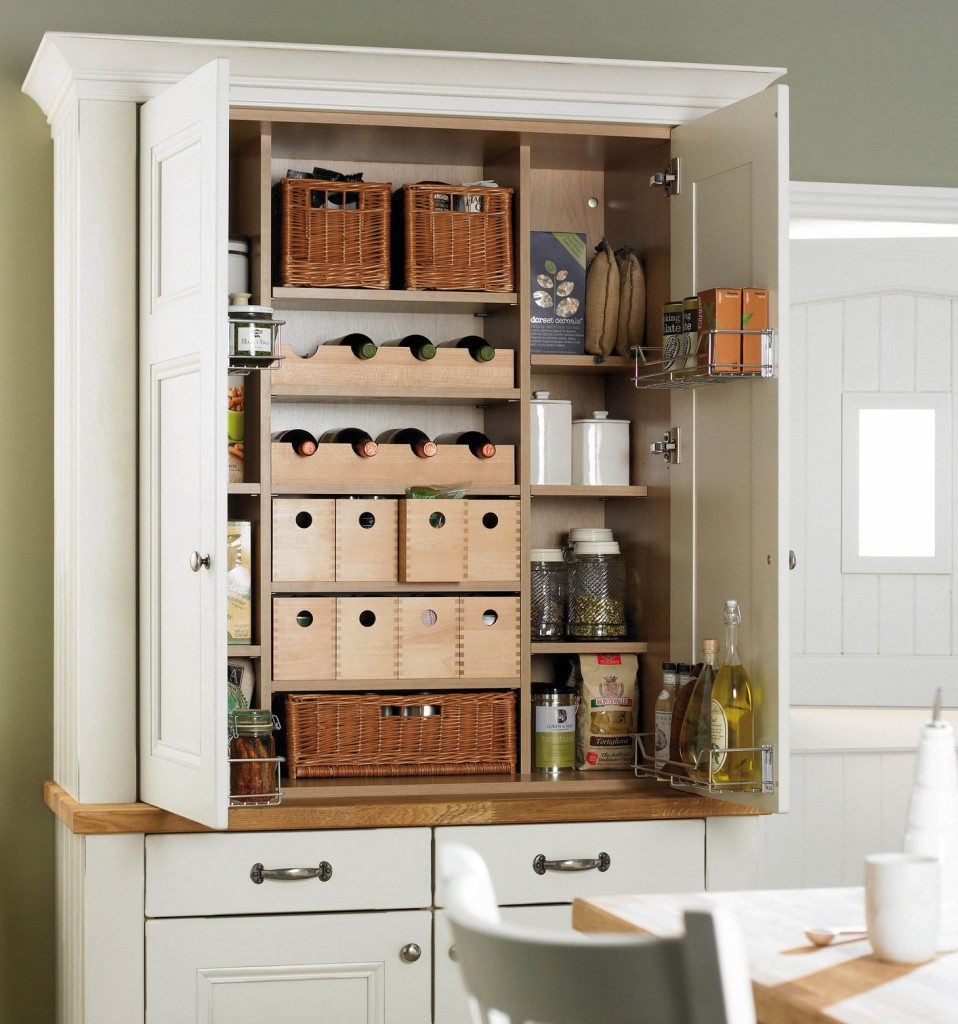 Free Standing Kitchen Pantry Ideas
