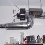 Basement Air Ventilation System