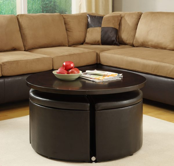 Coffee Table Ottomans With Storage A Creative Mom