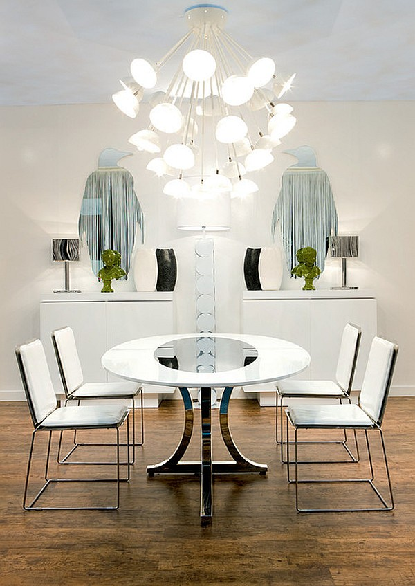 20 White Dining Room Furniture Ideas with photos