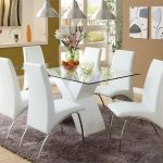 white-dining-room-table-set