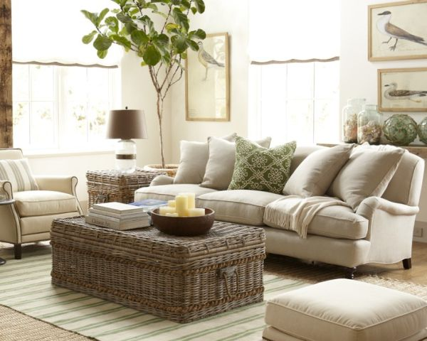Selecting A Wicker Coffee Table