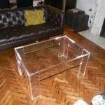 Acrylic Waterfall Coffee Table