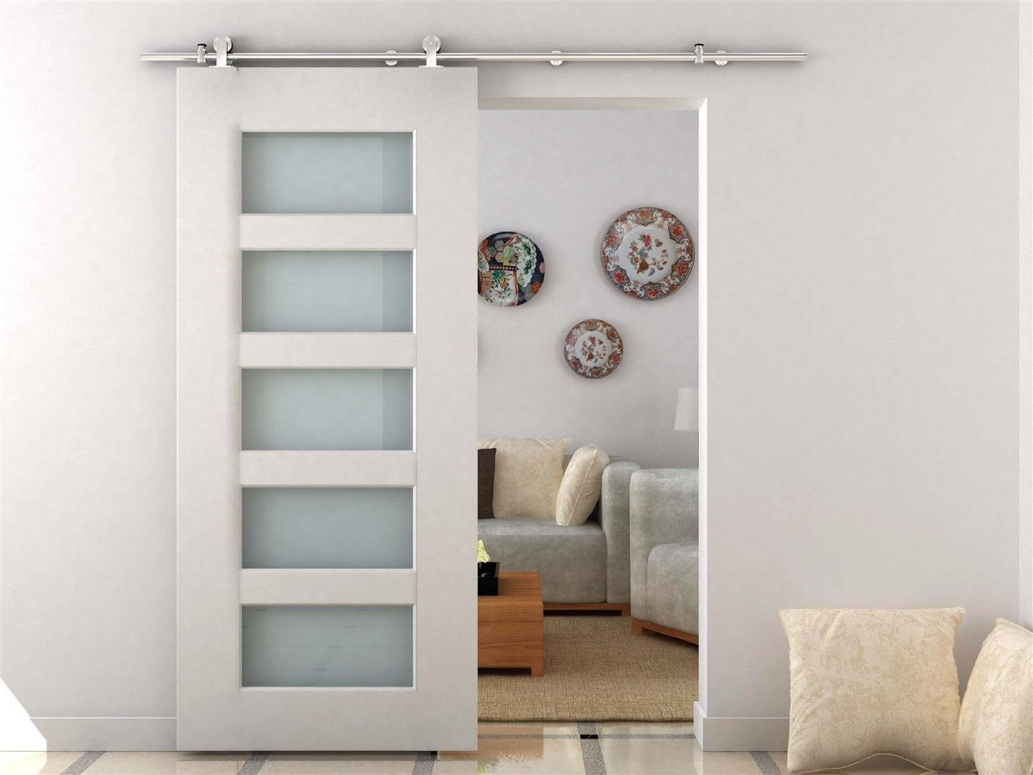 Sliding barn doors yea or nea i say yea - Montar puertas correderas armario ...