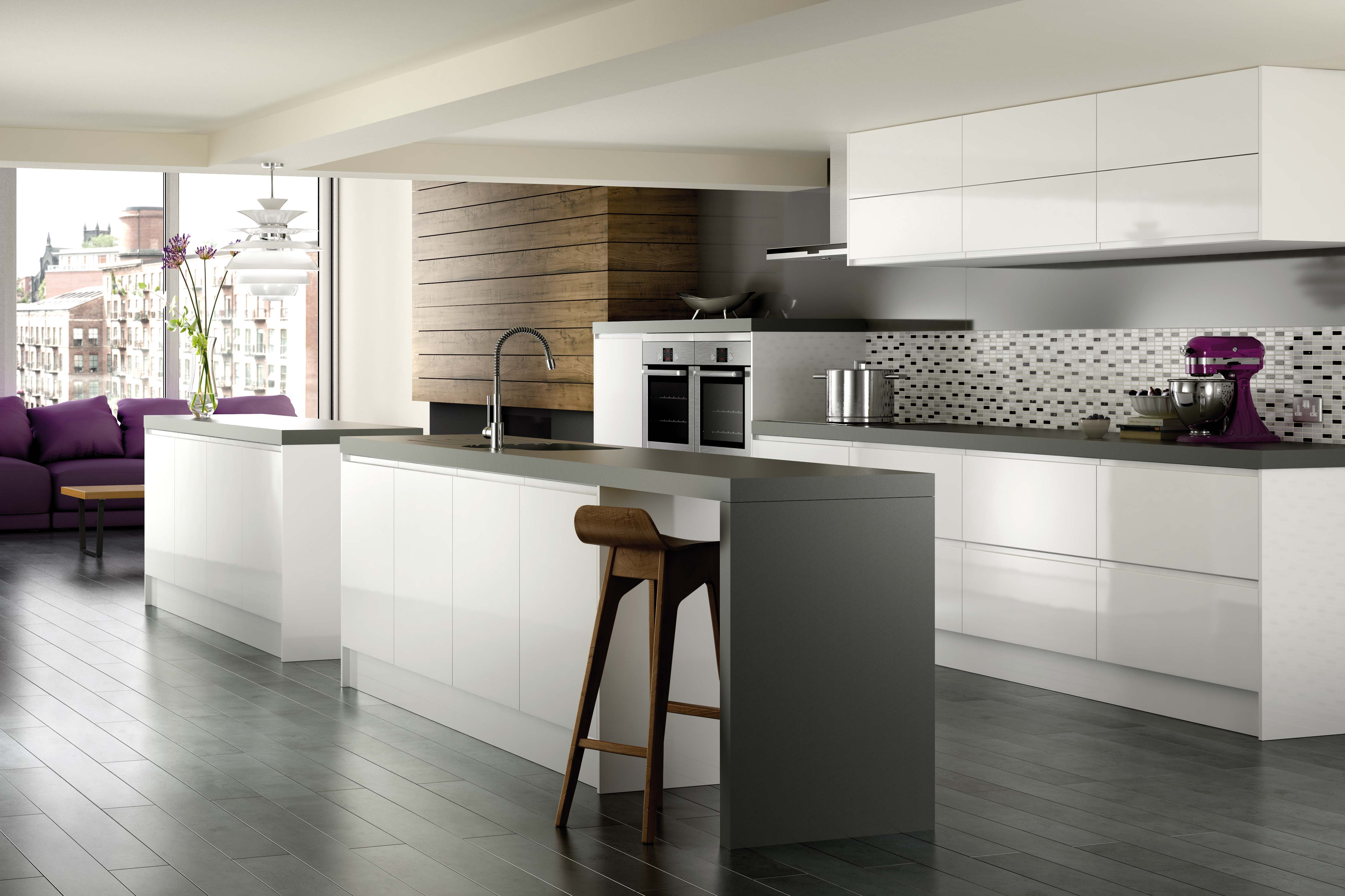 Grey laminate flooring for kitchens