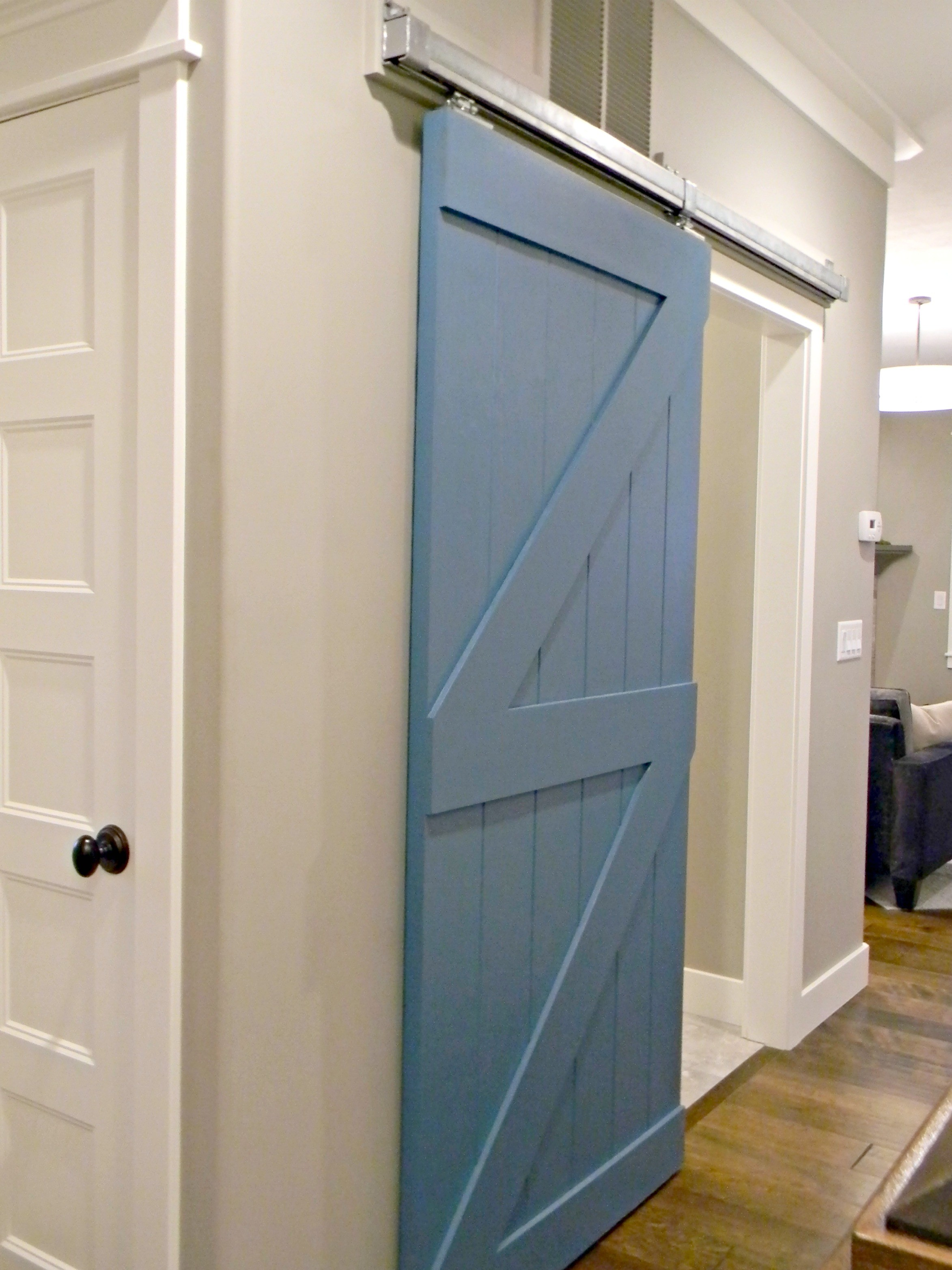 Sliding Barn Doors Inside House A Creative Mom
