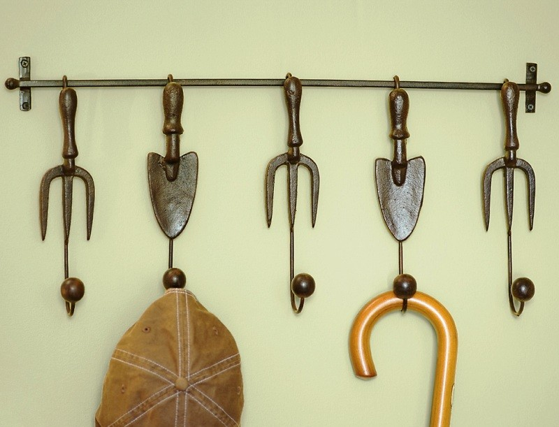 Examples Of Using Decorative Wall Hooks To Inspire You A