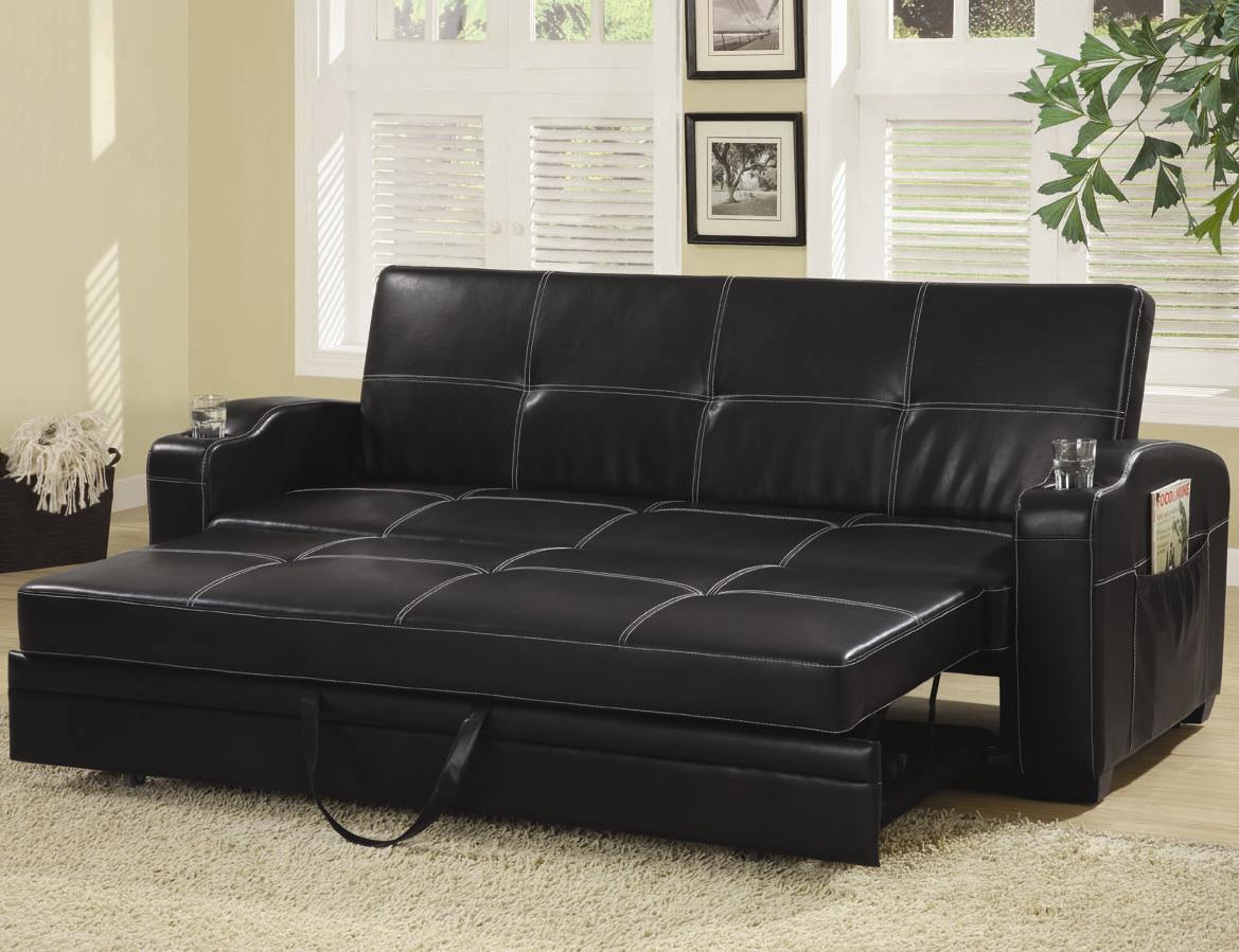Leather sofa1