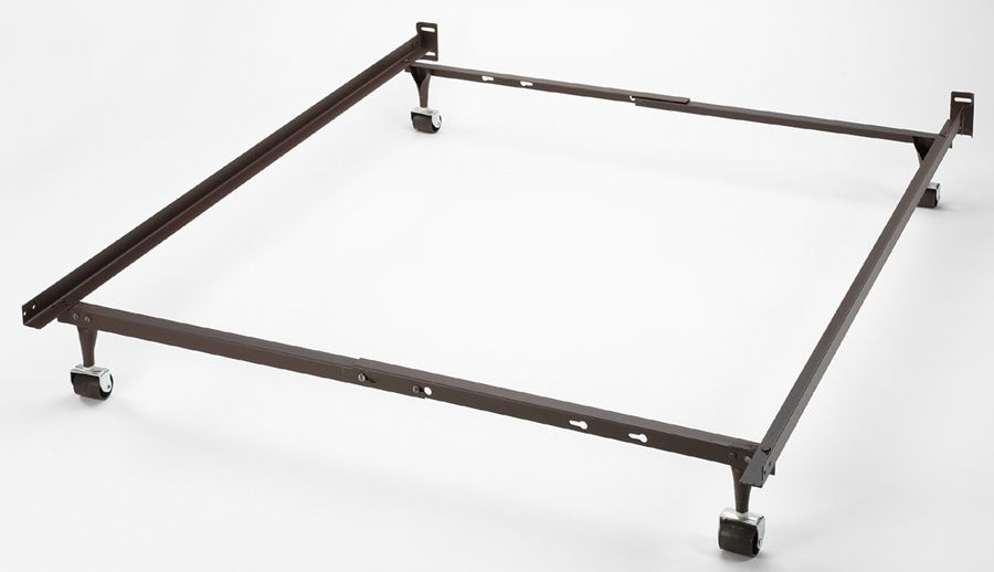 metal-bed-frame-casters