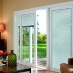 Sliding Door With Blinds