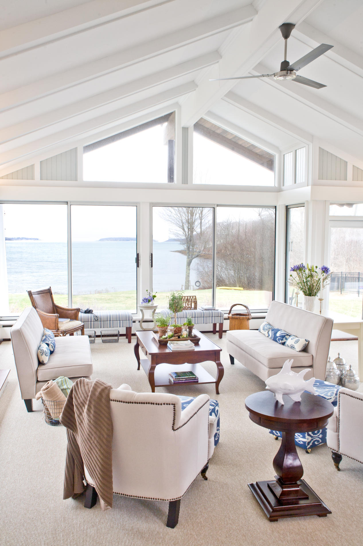 The Zen Of Coastal Living Rooms A Creative Mom