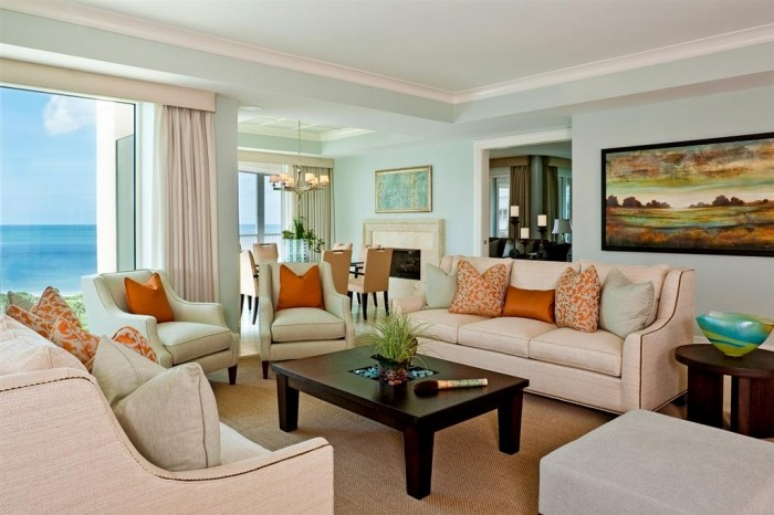 The zen of coastal living rooms a creative mom for Coastal living rooms ideas