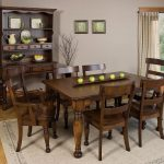Amish Expandable Dining Table