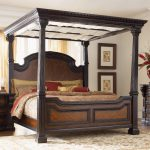 California King Canopy Bedroom Set