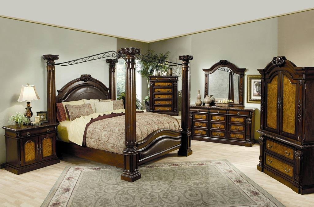 Canopy Bedroom Sets Queen