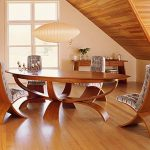 Expandable Oval Dining Table
