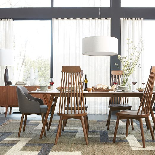 Expandable Wood Dining Table