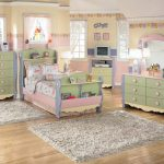 Girls Canopy Bedroom Set