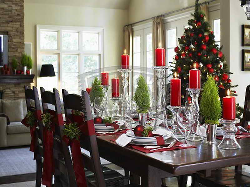 Large Dining Room Table Centerpieces