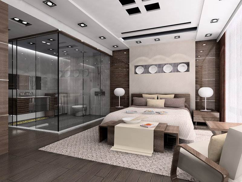 Mirrored Furniture Bedroom Ideas