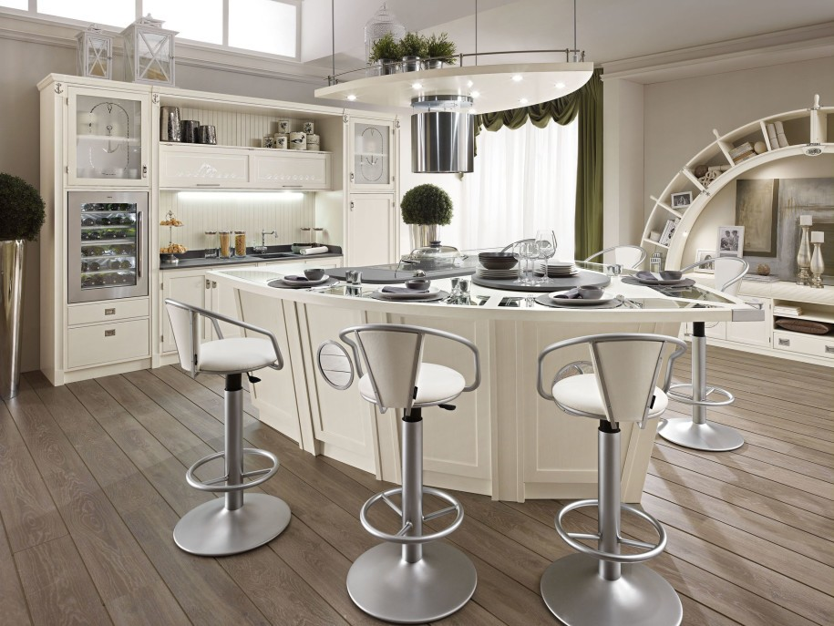Modern French Provincial Kitchen