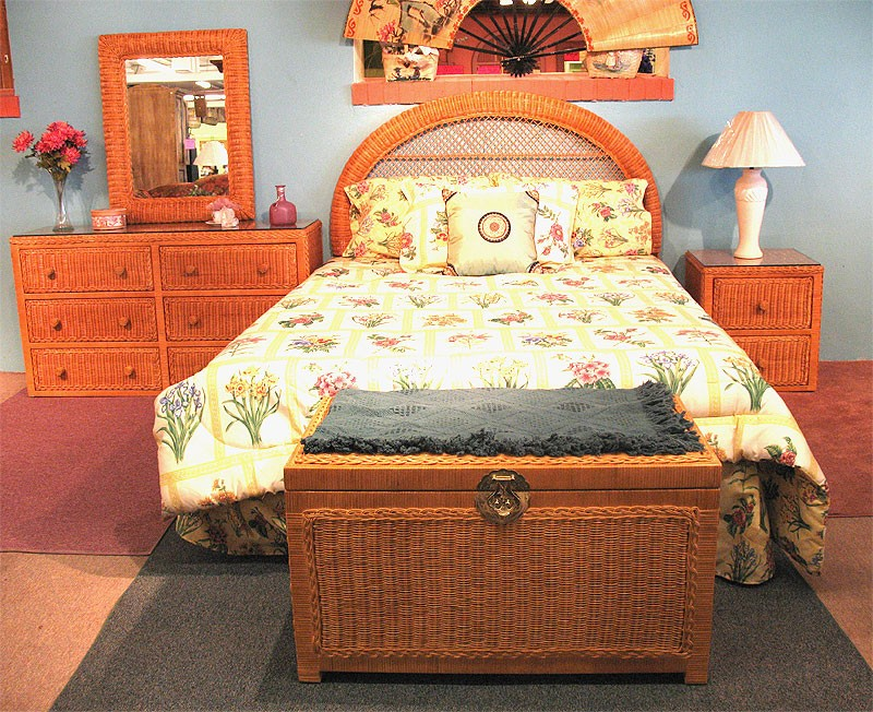 Painting Wicker Bedroom Furniture