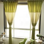 Plain Lime Green Curtains