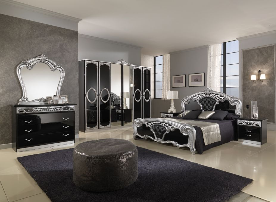 Silver Mirrored Bedroom Furniture