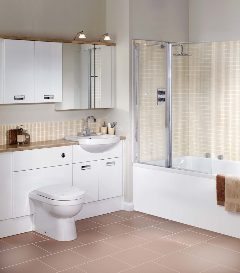 White Gloss Bathroom Furniture
