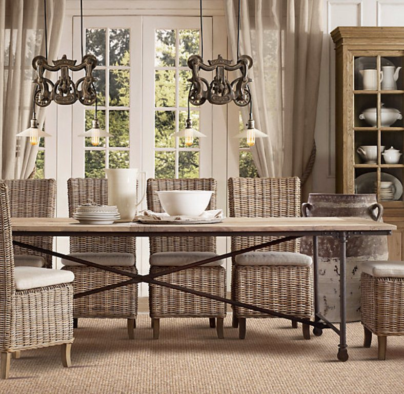 Rattan Dining Chairs That Are Chic For Your Rooms