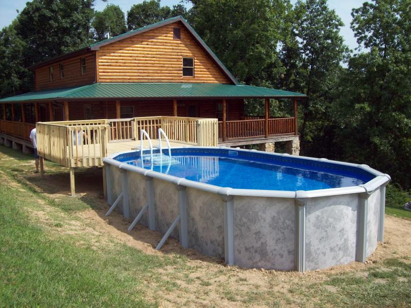 Above Ground Swimming Pools With Decks