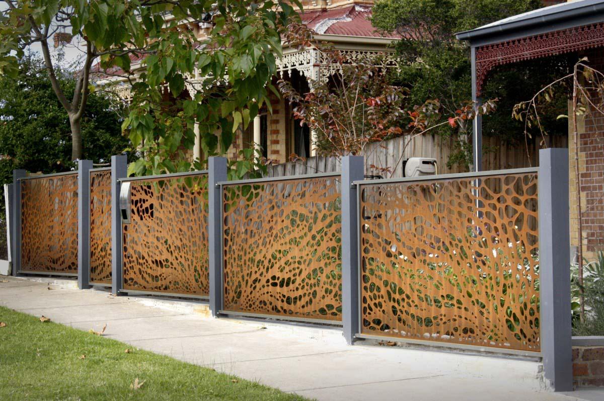 Decorative Trellis Fence Panels