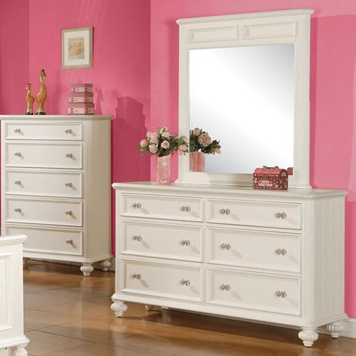 Dresser Table With Mirror