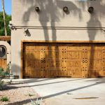 Hinged Wooden Garage Doors