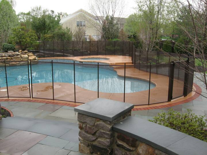 Mesh Pool Safety Fence