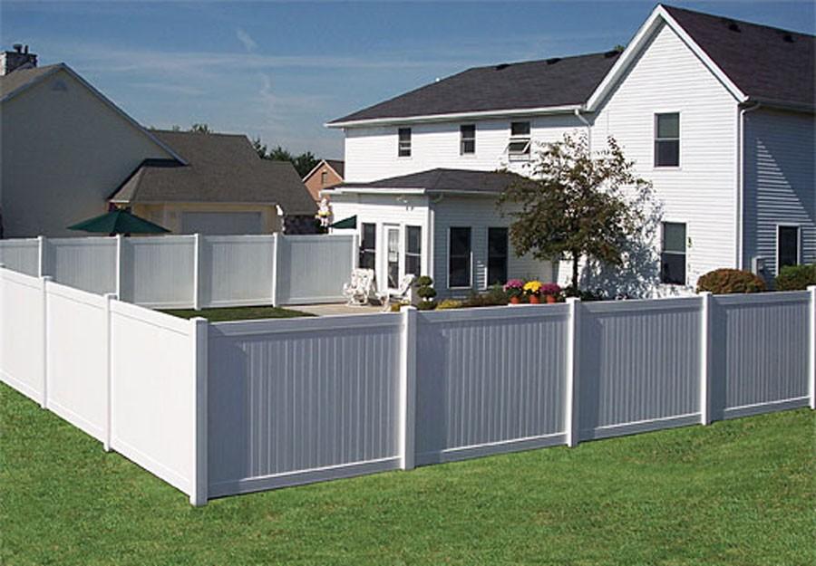 White Vinyl Gates For Fences